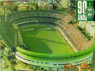 Estádio Couto Pereira.  (Fonte: Coxan@utas)