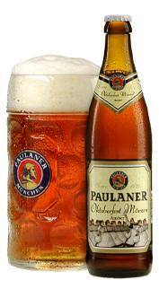 Paulaner Oktoberfet Bier