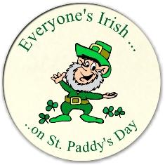 Feliz Saint Patrick's Day!