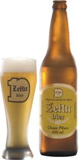 Chope ZeHn Bier em garrafa